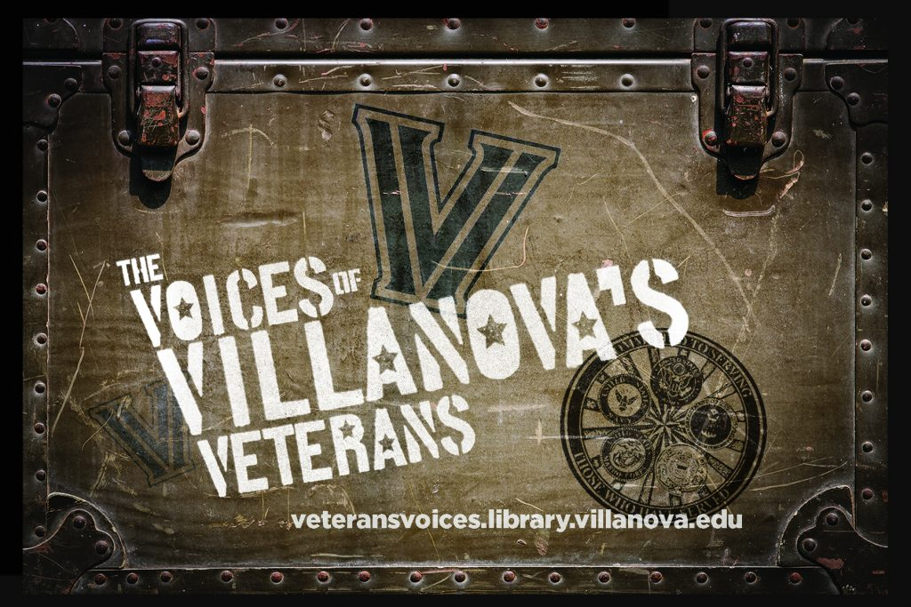 Villanova Veterans Voices Postcard