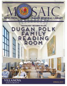 Spring 2017 Mosaic