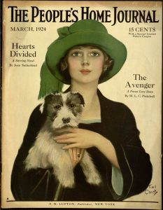 cover image: People's Home Journal, March, 1924