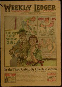 Cover image: Weekly Ledger, v. LII, no. 21, Saturday, May 24, 1924