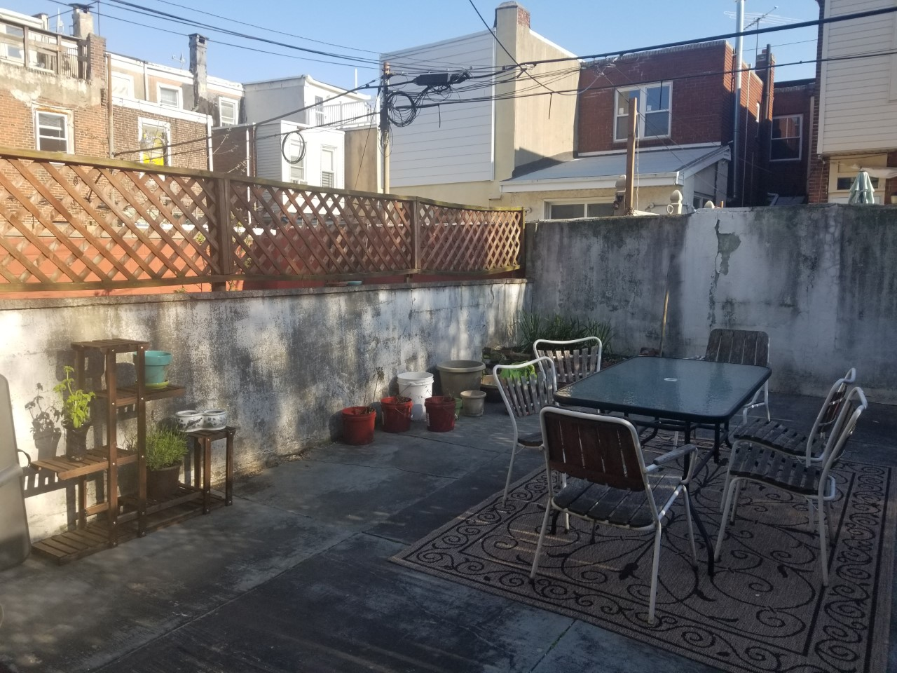 Nate's South Philly Backyard