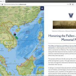 Memorial Map Celebrates Veterans' Service, Sacrifice