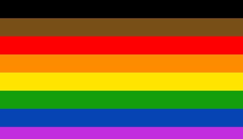 Philadelphia Pride Flag.