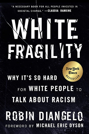 "Image of the book cover for ""White Fragility."""