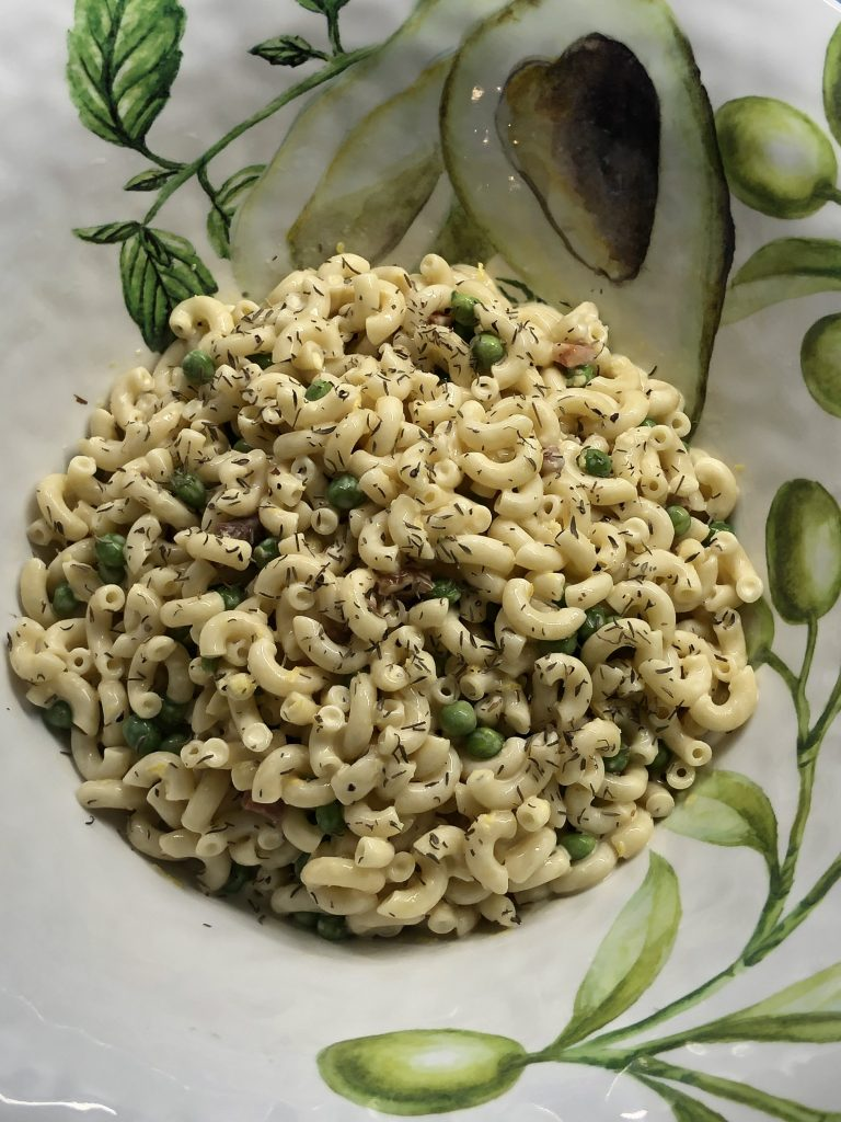Photo of Macaroni Salad.