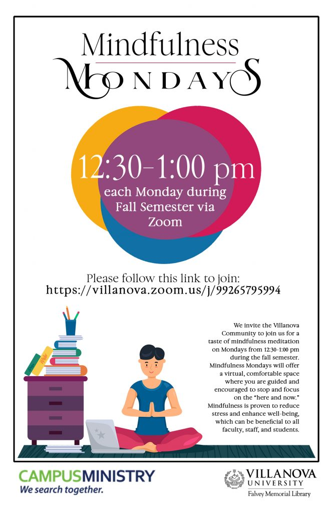 mindfulness mondays poster