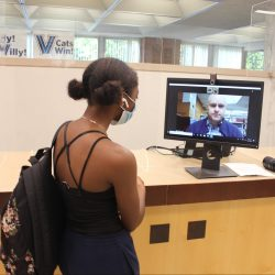 At Your (Virtual and In-Person) Service: A Look Inside Falvey's Successful Fall Reopening