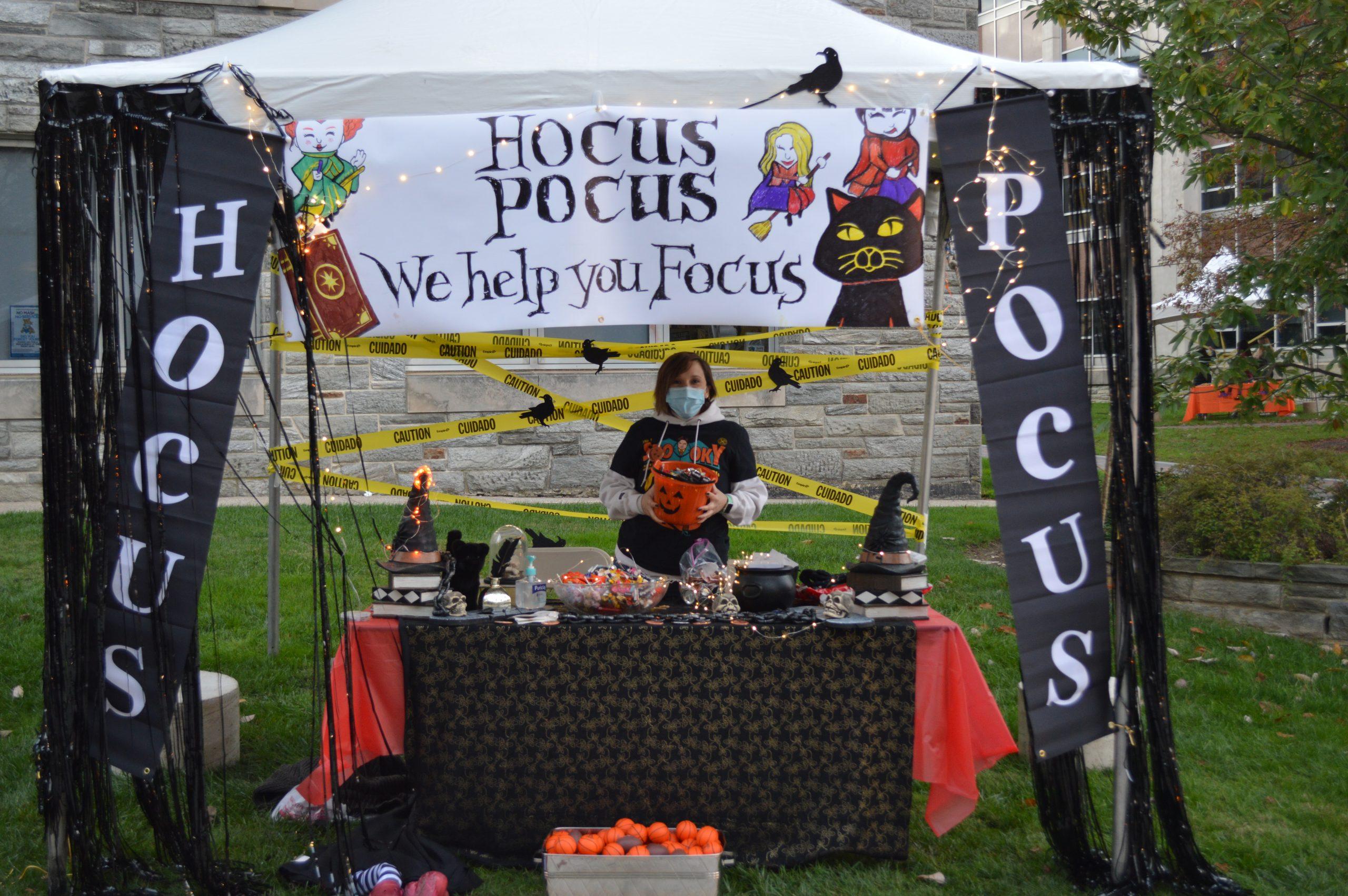 Hocus Pocus Themed Tent