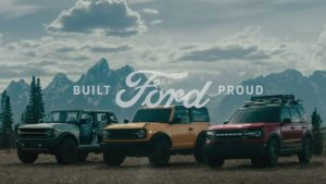 2020 Ford commercial shot
