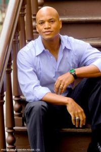 headshot of author Wes Moore