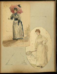 "photo from digital exhibit ""Scraps for Keeps"" and the ""A Family History in Watercolors and Prints: Life in Victorian Era Hull, England"" collection"