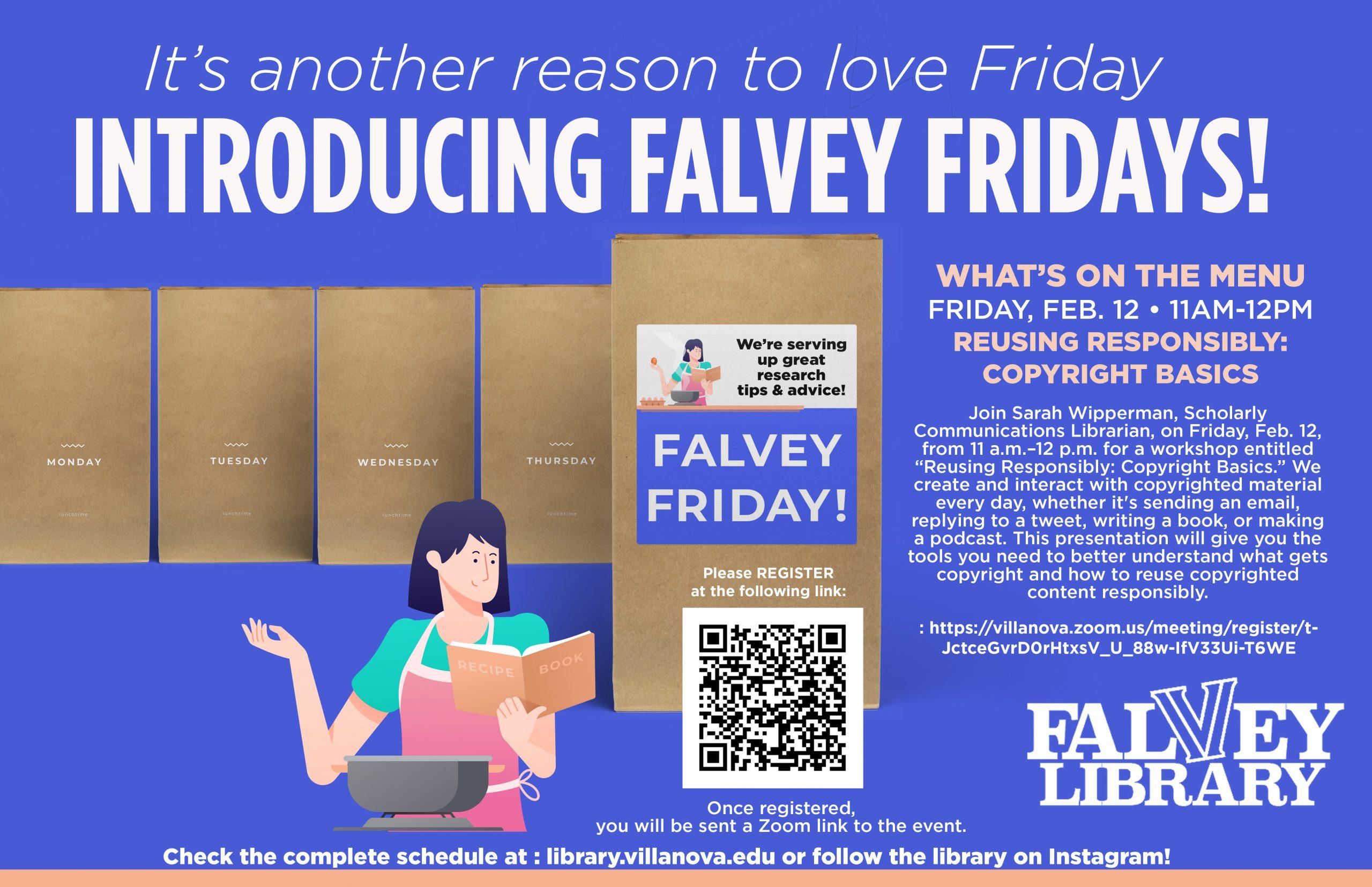 Falvey Fridays evite