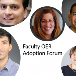 Celebrating Faculty Adopting Open Educational Resources (OER)