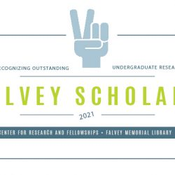 Announcing the 2021 Falvey Scholars