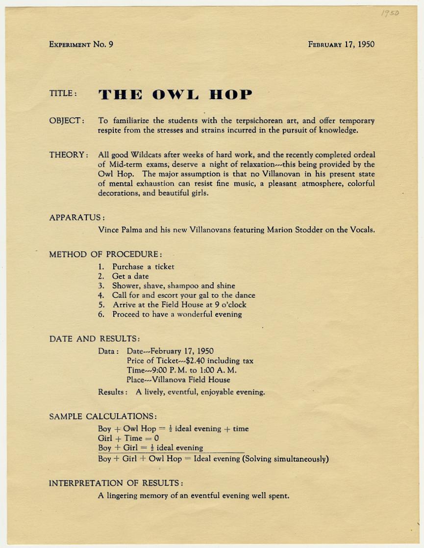 Owl Hop Announcement
