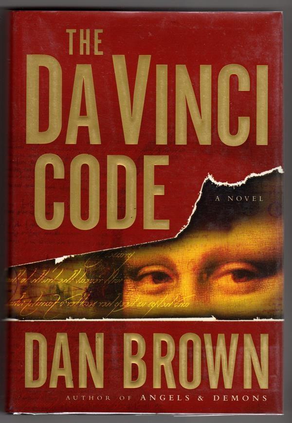 """Image of """"The Da Vinci Code"""" by Dan Brown."""