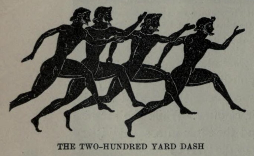 Ancient Olympic Runners