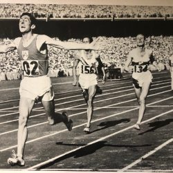 Photo Friday: Ron Delany Wins Olympic Gold in 1956