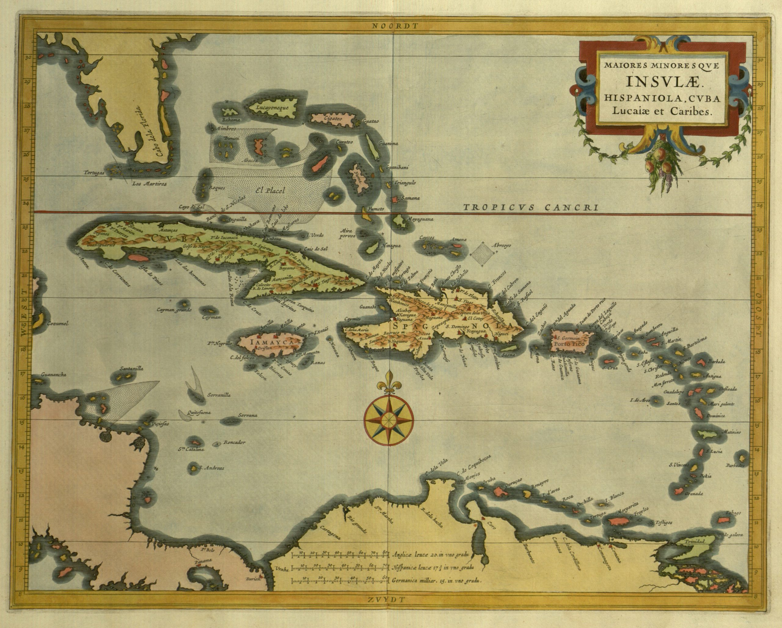 Map of Haiti from the John Smith Collection