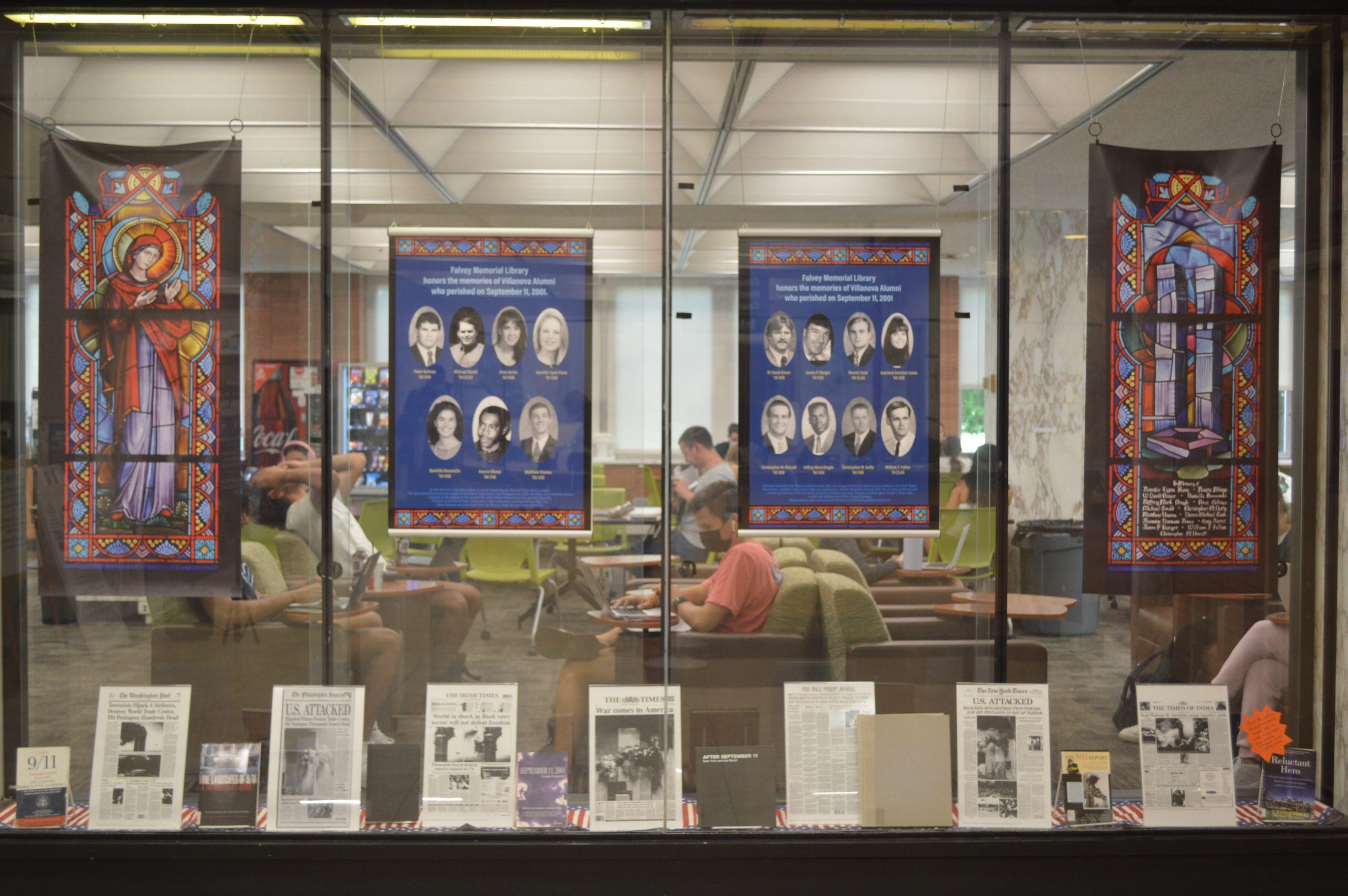 """""""9/11 Display in Falvey Memorial Library"""""""