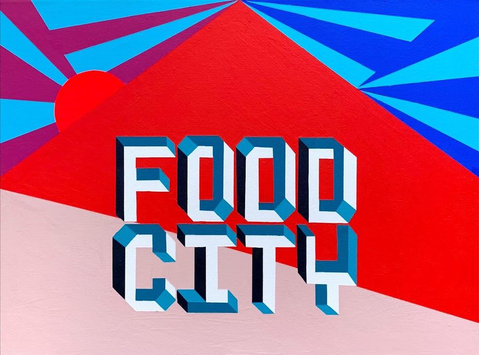 """""""Food City by Yunuen Cho"""""""