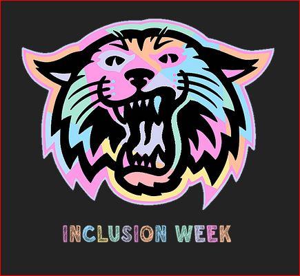 Inclusion Week multicolor wildcat image