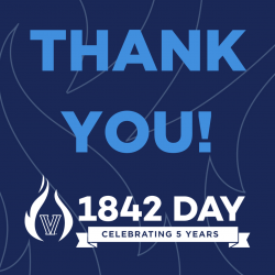 Photo Friday: Thank You 1842 Day Donors