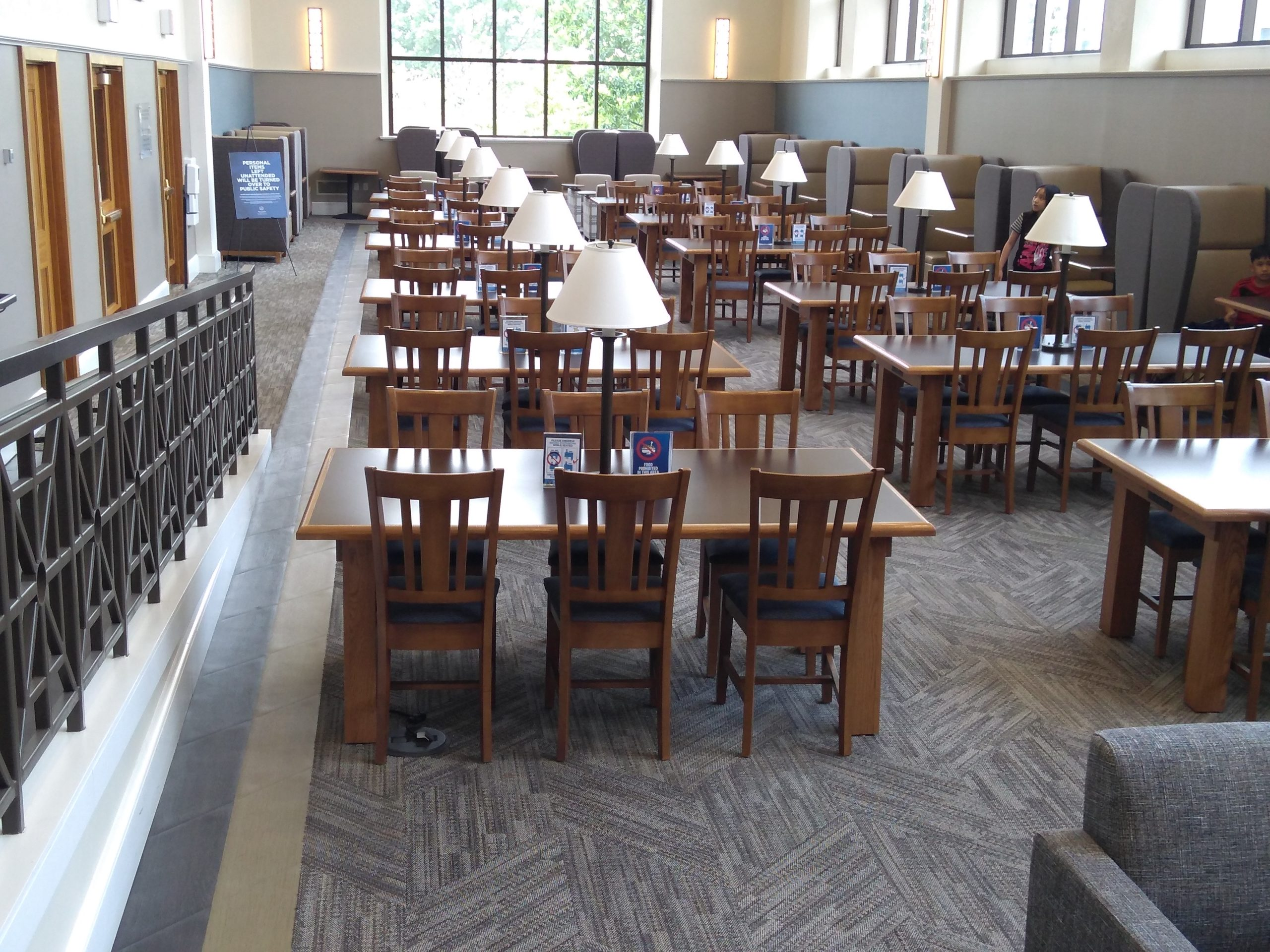 """""""Reading Room in Falvey Library"""""""