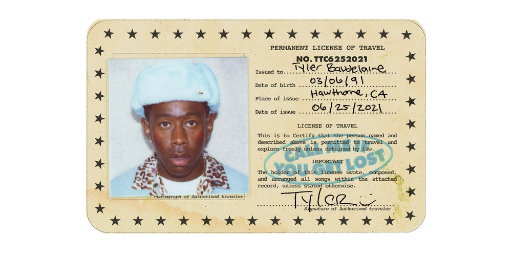"""""""Album cover of 'CALL ME IF YOU GET LOST' by Tyler, the Creator"""""""
