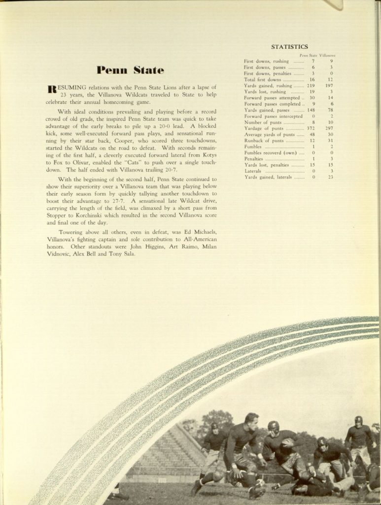 Image featured in the 1936 Belle Air yearbook (p. 157).