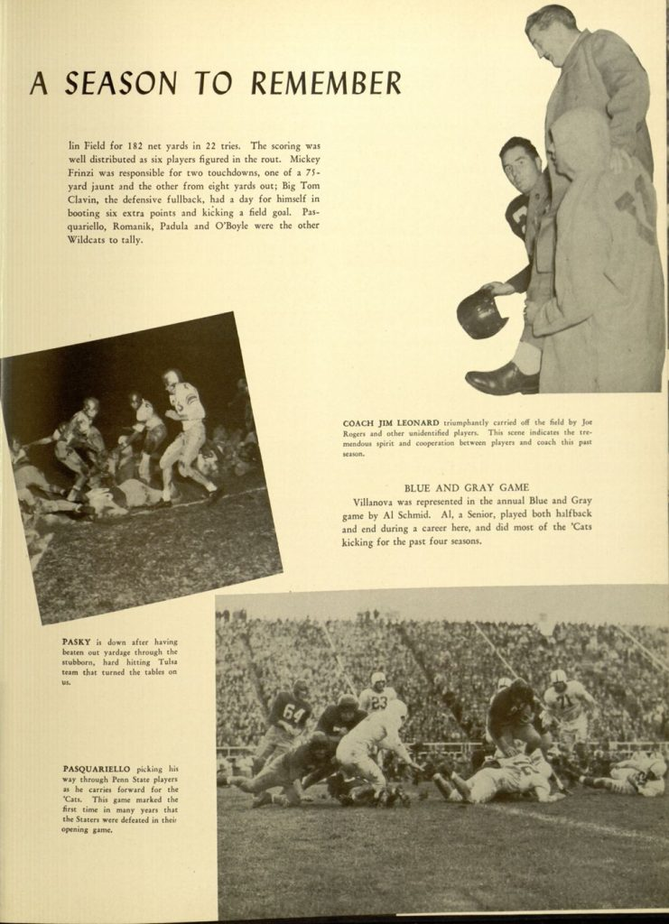 Image featured in the 1949 Belle Air yearbook (p. 205).