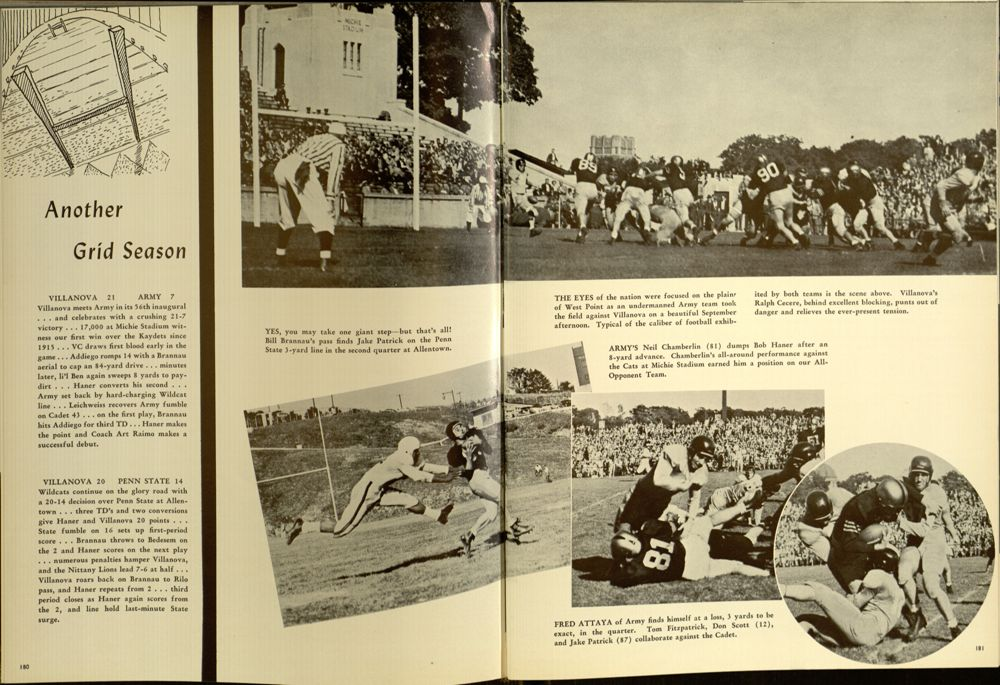 Image featured in the 1949 Belle Air yearbook (p. 183).