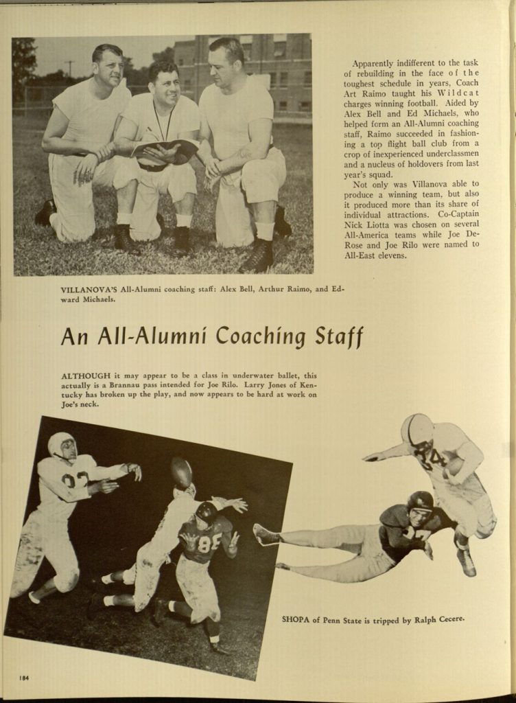 Image featured in the 1949 Belle Air yearbook (p. 184).