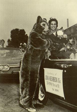 Homecoming parade, 1962