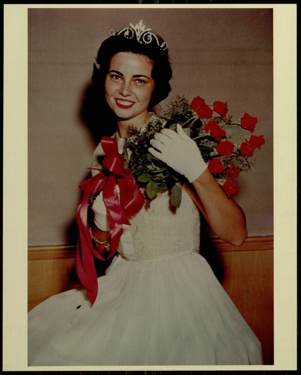 Homecoming queen, 1960