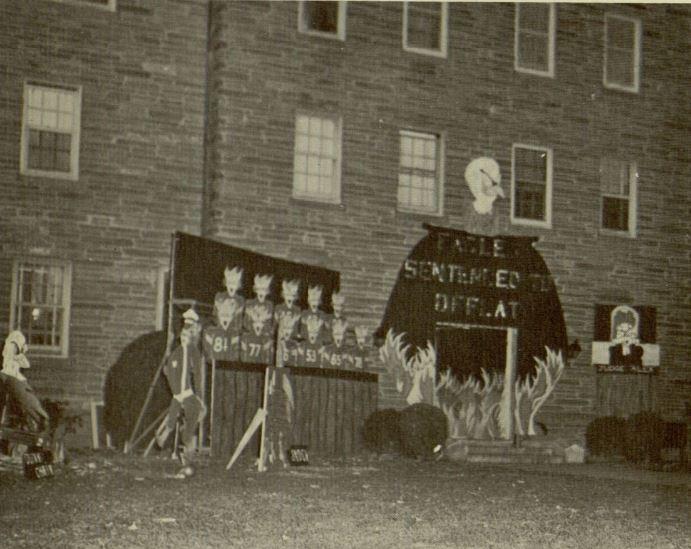 Dorm Decorations, 1961