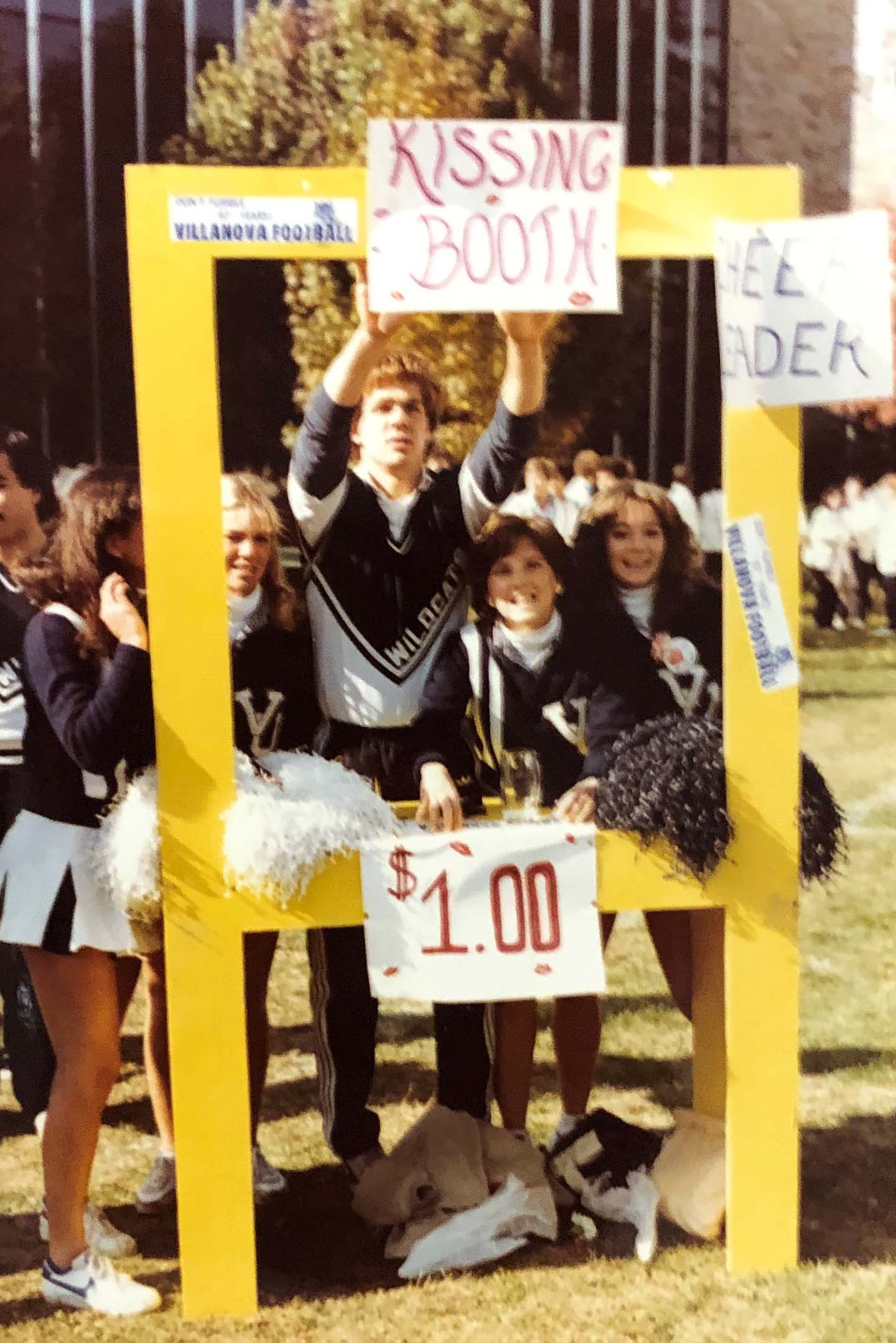 Kissing booth, 1983